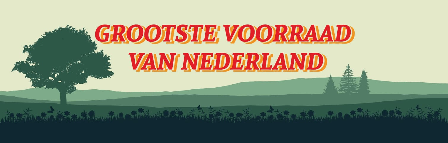 Grootste voorraad van Nederland - Banner